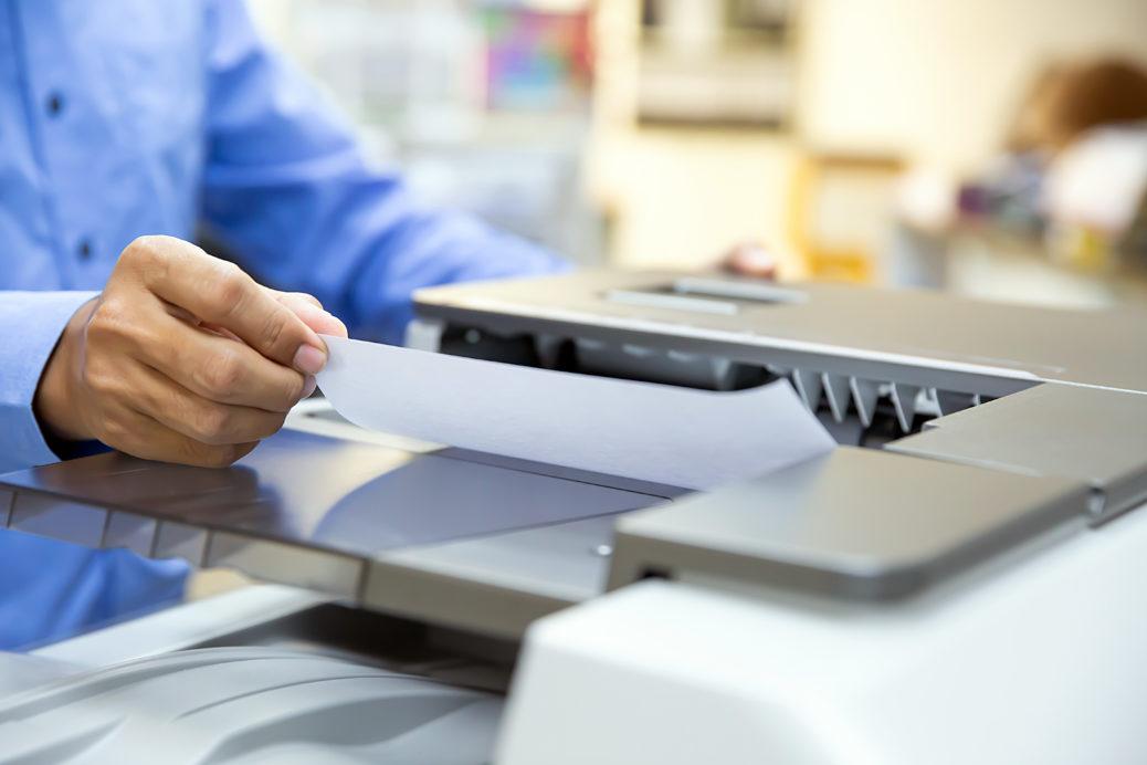 O papel influencia na qualidade da impressão?